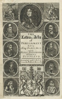 Scottish Royals, by James Clark - NPG D29277