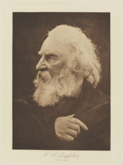 Henry Wadsworth Longfellow, by Julia Margaret Cameron, published by  T. Fisher Unwin - NPG Ax29140