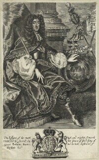 King Charles II, by Robert White - NPG D29280