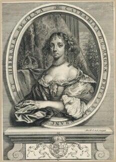 Catherine of Braganza, by Arnold de Jode, after  Unknown artist - NPG D29291