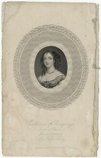 Catherine of Braganza, after Sir Peter Lely, published by  Charles Skeet - NPG D29300