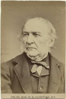 William Ewart Gladstone, by Elliott & Fry - NPG x5963