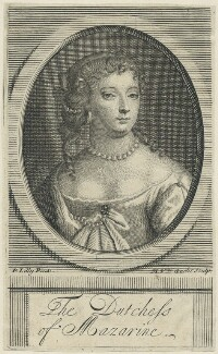 Anne Hyde, Duchess of York, by Michael Vandergucht, after  Sir Peter Lely - NPG D29317