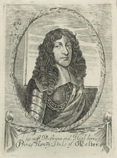 Prince Rupert, Count Palatine engraved as Henry, Duke of Gloucester, after Unknown artist - NPG D29325