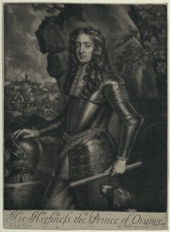 King William III, published by Richard Tompson, after  Sir Peter Lely, 1678-1679 - NPG D29332 - © National Portrait Gallery, London