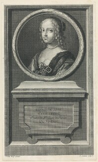 Henrietta Anne, Duchess of Orleans, by Jean Audran, after  Claude Mellan - NPG D29333