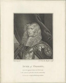 James Butler, 1st Duke of Ormonde, by Ignatius Joseph van den Berghe, possibly after  Sir Peter Lely - NPG D29349