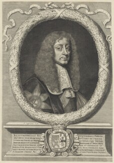 James Butler, 1st Duke of Ormonde, by and after David Loggan - NPG D29353