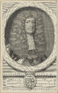 James Butler, 1st Duke of Ormonde, by and after David Loggan - NPG D29356