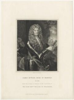 James Butler, 1st Duke of Ormonde, by Edward Scriven, after  Sir Godfrey Kneller, Bt - NPG D29358