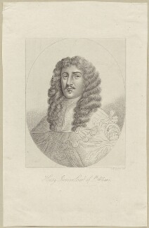 Henry Jermyn, Earl of St Albans, by R. Cooper, after  Unknown artist - NPG D29362
