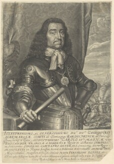 George Monck, 1st Duke of Albemarle, by David Loggan, sold by  Matthew Collings - NPG D29374