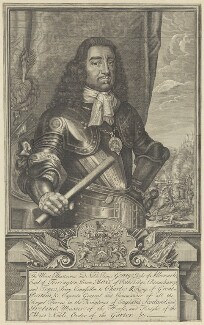 George Monck, 1st Duke of Albemarle, by Robert Sheppard, after  David Loggan - NPG D29377