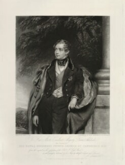Prince George William Frederick Charles, 2nd Duke of Cambridge, by William Ward, after  John Lucas - NPG D32543