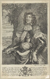 George Monck, 1st Duke of Albemarle, by Edward Davis (Le Davis) - NPG D29378