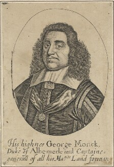 George Monck, 1st Duke of Albemarle, after Unknown artist - NPG D29379