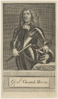 George Monck, 1st Duke of Albemarle, by Michael Vandergucht - NPG D29382