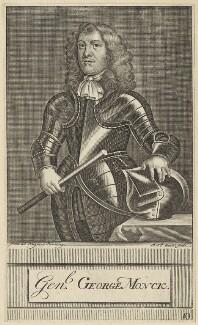 George Monck, 1st Duke of Albemarle, by Michael Vandergucht - NPG D29383