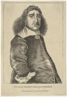 George Monck, 1st Duke of Albemarle, published by Edward Harding, after  Richard Gaywood - NPG D29386