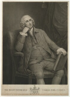 Charles Pratt, 1st Earl Camden, by Francesco Bartolozzi, after  Thomas Gainsborough - NPG D32549