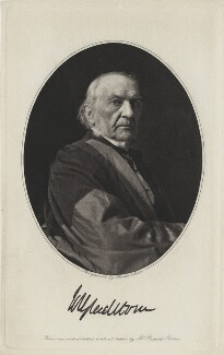 William Ewart Gladstone, by Annan and Swan, after  Rupert Potter - NPG x5965