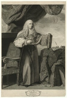 Charles Pratt, 1st Earl Camden, by Simon François Ravenet, published by  John Boydell, after  Sir Joshua Reynolds - NPG D32553