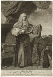 Charles Pratt, 1st Earl Camden, by Simon François Ravenet, published by  John Boydell, after  Sir Joshua Reynolds - NPG D32554