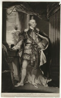 John Jeffreys Pratt, 1st Marquess Camden, by William Ward, after  John Hoppner - NPG D32556