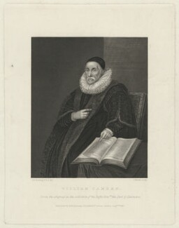 William Camden, by Joseph Brown, after  George Perfect Harding, after  Unknown artist - NPG D32559