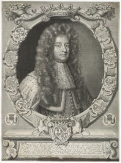 William Douglas, 1st Duke of Queensberry, by Peter Vanderbank (Vandrebanc), after  Sir Godfrey Kneller, Bt - NPG D29403