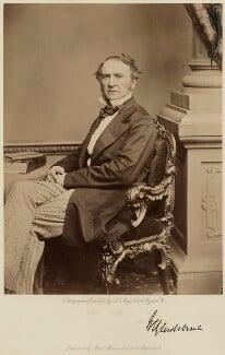 William Ewart Gladstone, by John Jabez Edwin Mayall, published by  A. Marion & Co - NPG x5888