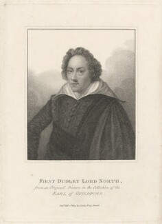 Dudley North, 3rd Baron North, published by John Scott - NPG D29418