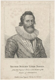 Dudley North, 4th Baron North, published by Silvester (Sylvester) Harding, after  Unknown artist - NPG D29419