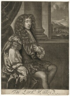 Anthony Ashley-Cooper, 2nd Earl of Shaftesbury, published by Richard Tompson, after  Sir Peter Lely - NPG D29420
