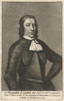 Marmaduke Langdale, 1st Baron Langdale of Holme, by William Humphrey - NPG D29430