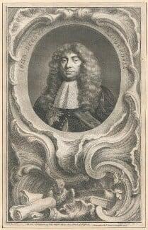 John Maitland, Duke of Lauderdale, by Jacobus Houbraken, published by  John & Paul Knapton, after  Sir Peter Lely - NPG D29434