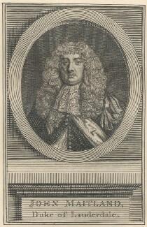 John Maitland, Duke of Lauderdale, after Sir Peter Lely - NPG D29436