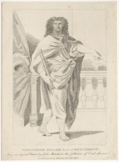 Wentworth Dillon, 4th Earl of Roscommon, published by Silvester (Sylvester) Harding, after  Carlo Maratta - NPG D29460