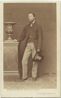 Spencer Compton Cavendish, 8th Duke of Devonshire, by John & Charles Watkins, 1860s - NPG x8031 - © National Portrait Gallery, London