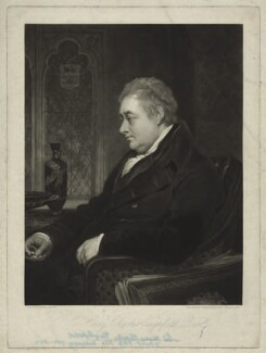 Sir Henry Charles Englefield, 7th Bt, by Charles Turner, after  Thomas Phillips - NPG D32567