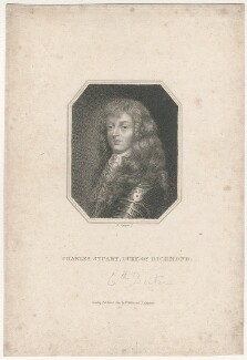 Charles Stuart, 3rd Duke of Richmond and 6th Duke of Lennox, by Edward Scriven, published by  William Richard Beckford Miller, published by  James Carpenter - NPG D29465