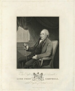 Lord Frederick Campbell, by James Stow, published by  George Perfect Harding, after  Henry Edridge - NPG D32569