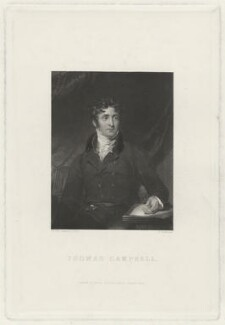 Thomas Campbell, by John Henry Robinson, after  Sir Thomas Lawrence, 1848 - NPG D32573 - © National Portrait Gallery, London