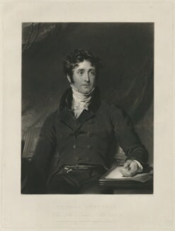 Thomas Campbell, by Samuel Cousins, and by  Henry Cousins, after  Sir Thomas Lawrence - NPG D32574