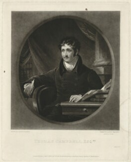 Thomas Campbell, by Samuel William Reynolds, after  James Lonsdale - NPG D32575
