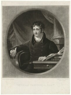 Thomas Campbell, by Samuel William Reynolds, after  James Lonsdale - NPG D32576