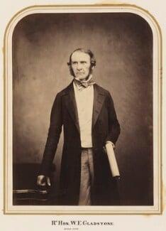 William Ewart Gladstone, by Maull & Polyblank - NPG Ax7273