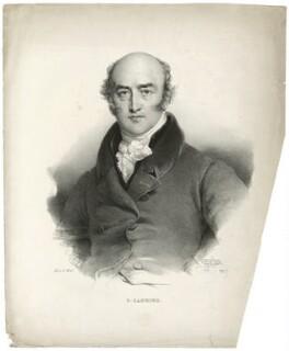 George Canning, by Henri Grevedon, published by  Charles Etienne Pierre Motte - NPG D32580