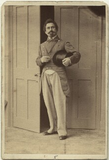 Horace Wigan, by Camille Silvy - NPG x27381