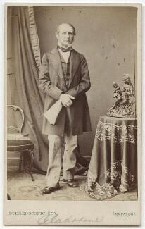 William Ewart Gladstone, by London Stereoscopic & Photographic Company - NPG x45468